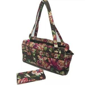 Vera Bradley Whitney Hand Bag Purse Shoulder +CBC